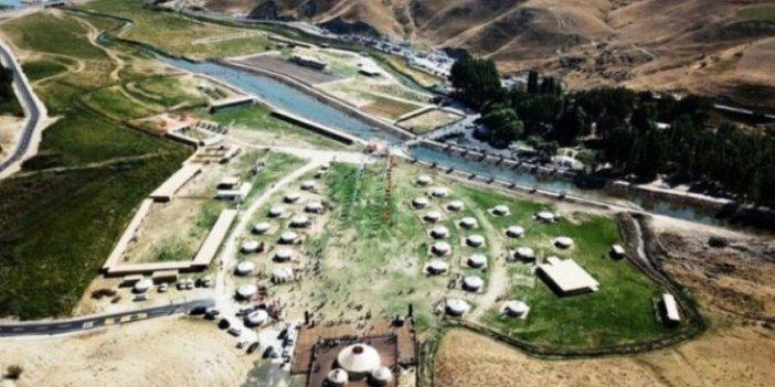 Koronavirüs dinlemediler: Ahlat'taki yazlık saray inşaatına devam