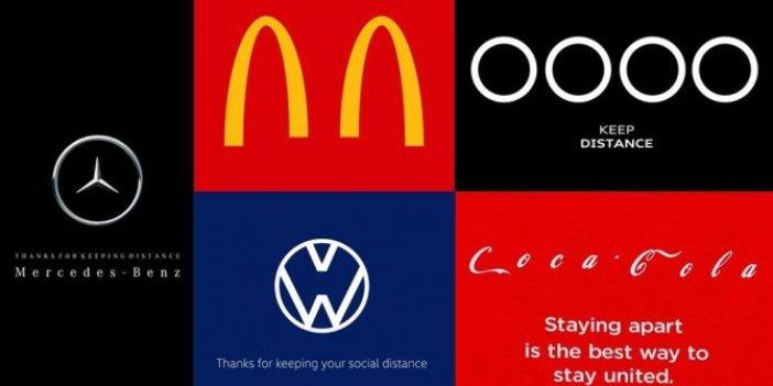 Korona logoları da değiştirtti: Sosyal mesafe ayarı