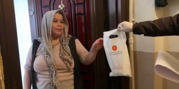 İzmir'de 65 yaş ve üstü vatandaşlara dağıtılan paketten Erdoğan'ın mektubu çıktı