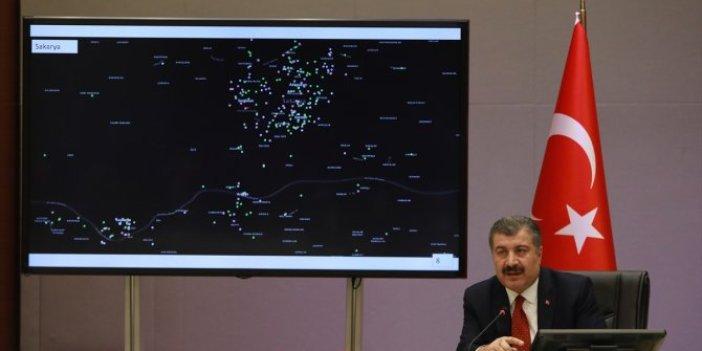 İşte il il korona virüs yoğunluk haritası… Bu bölgelerde oturanlar dikkat
