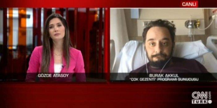 Korona virüsü yenen Burak Akkul CNN Türk'te tedavi sürecini anlattı