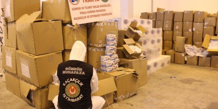 Yurt dışına 1 milyon 200 bin lira değerinde tıbbi malzeme kaçıracaklardı