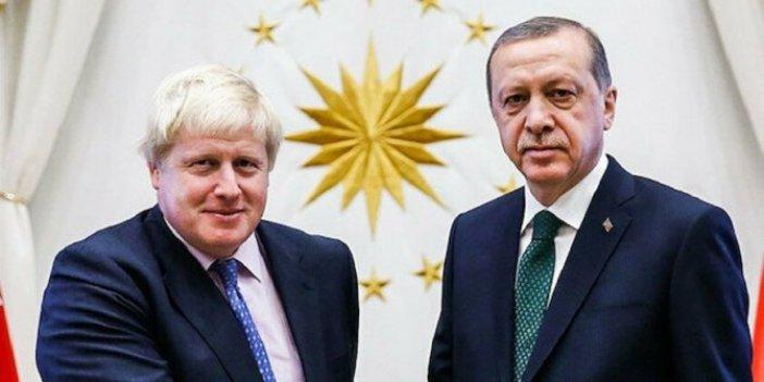 Erdoğan'dan Boris Johnson'a geçmiş olsun mektubu