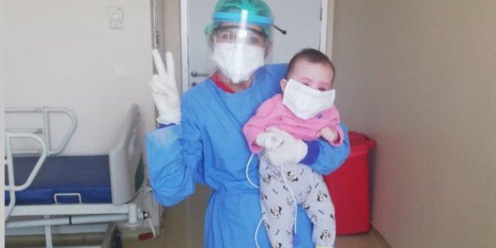4 aylık Asya bebek korona virüsü yendi