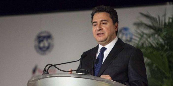 Erken seçim iddialarının ardından Ali Babacan'dan flaş hamle