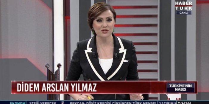 """Habertürk spikeri Didem Arslan Yılmaz: """"Tehdit ediliyorum"""""""