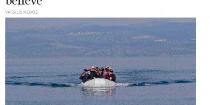 Yunan Medyasından ahlaksız Türkiye suçlaması