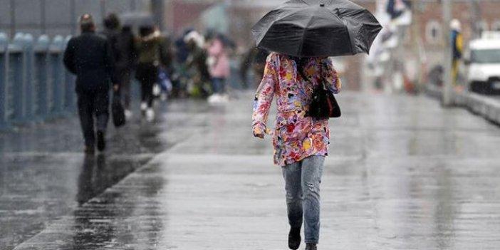 AKOM'dan İstanbul için yağış uyarısı