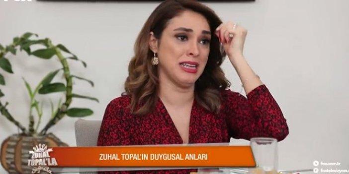 Zuhal Topal programda ağladı