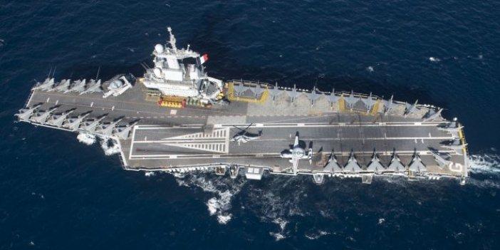 Askeri gemide korona krizi: 668 kişi poizitif