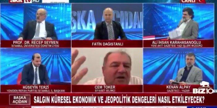 Akit TV'de görülmemiş olay! Cem Toker'i yayından kovdular!