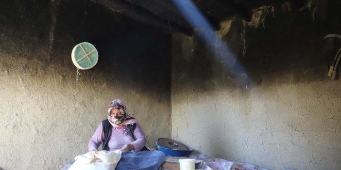 Van'da tandır ekmeği üretimi arttı