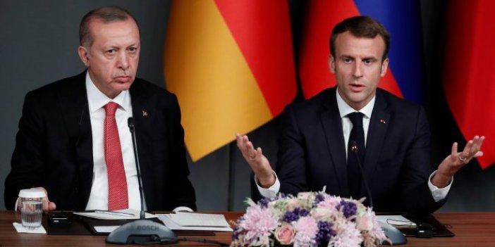 Cumhurbaşkanı Erdoğan ve Macron telefonda görüştü