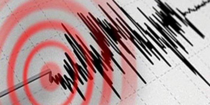 Muğla'nın Datça ilçesi'nde deprem