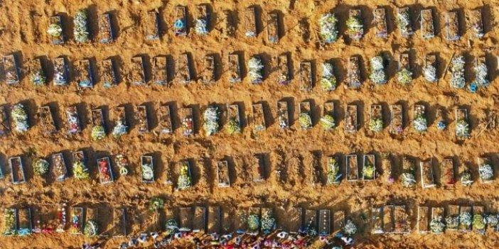 Koronadan ölenler için binlerce toplu mezar kazıldı