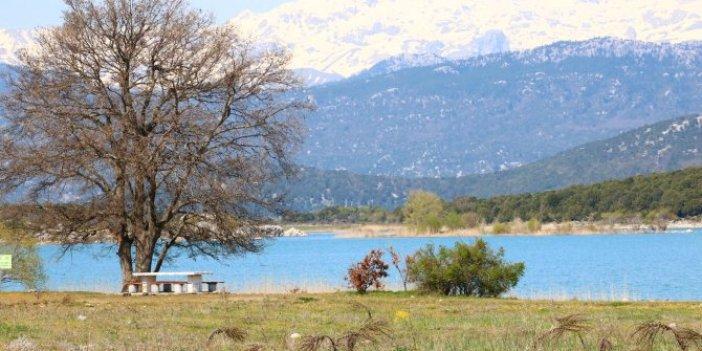 Salda'dan sonra gözü bu göle diktiler