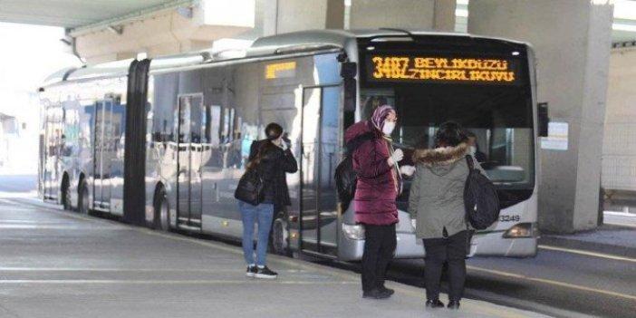 İBB'den toplu taşıma kararı!