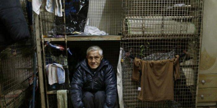 Hong Kong'ta kafes evlerde yaşam mücadelesi