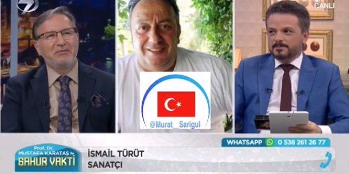 İsmail Türüt'ten Ramazan programında CHP'ye ağır hakaretler