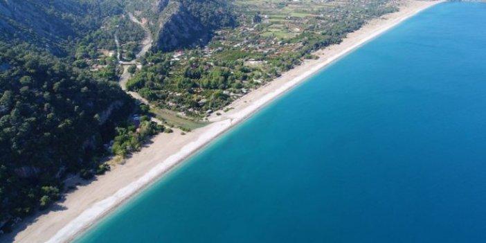 Her yıl binlerce turist akın ediyordu:  Antalya sahillerinde 'korona virüs' sessizliği
