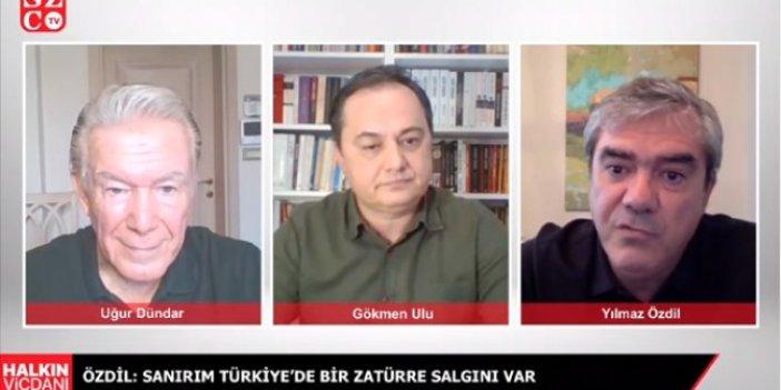 """Yılmaz Özdil'den canlı yayında flaş iddia: """"Açıklanmaya muhtaç 23 bin ölüm var"""""""