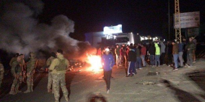 Halk ayaklandı! Lübnan alev alev