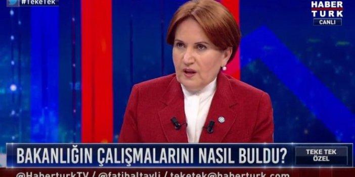 Akşener canlı yayında konuştu: Yeni Camii de dilenip, Sultan Ahmet Camii'de sadaka dağıtılmaz