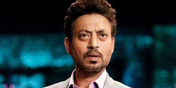 Dünyaca ünlü oyuncu Irrfan Khan hayatını kaybetti