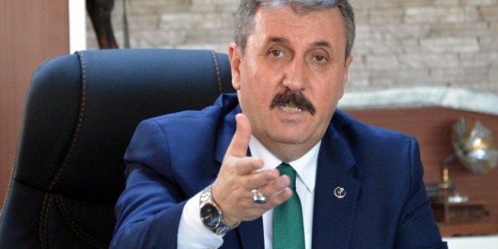Abdullah Öcalan'a izin verildi, Cumhur İttifakı'nda ilk isyan Mustafa Destici'den geldi