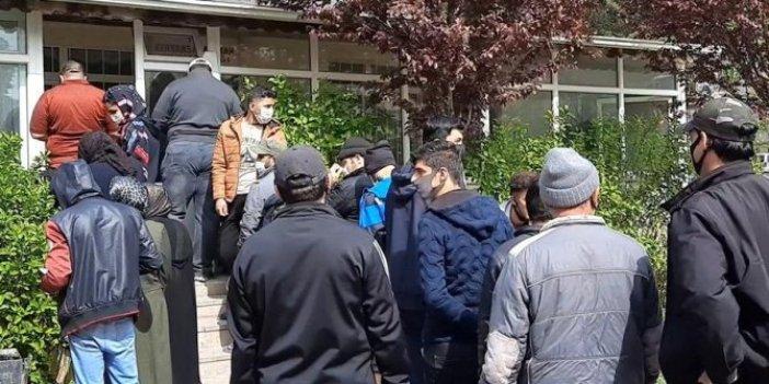 Dedikodusu bile yetti: Yardımı duyan sığınmacılar akın etti