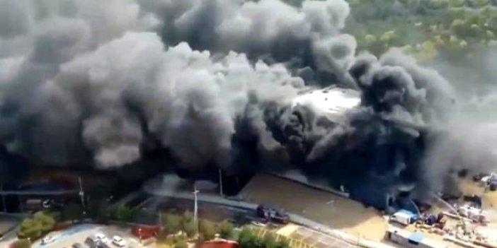 Alevler 25 işçiyi canından etti