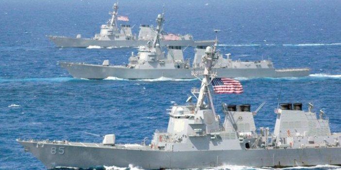 Güney Çin Denizi'nde gerilim arttı ABD Donaması ve Çin karşı karşıya