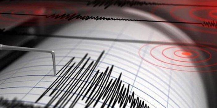 Komşuda 4.9 büyüklüğünde deprem