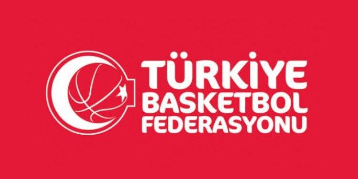 Türkiye Basketbol Federasyonu'ndan açıklama! Ligler...