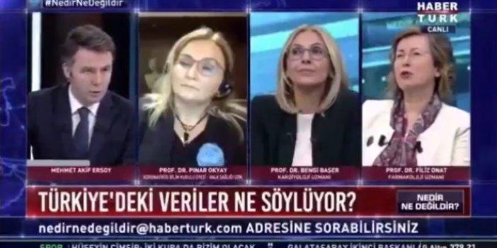"""Prof. Dr. Filiz Onat'tan canlı yayında flaş iddia: """"Sağlık Bakanlığı gerçek sayıları paylaşmıyor"""""""