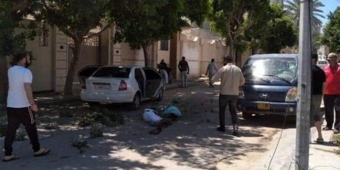 Hafter milislerinden sivillere roketli saldırı