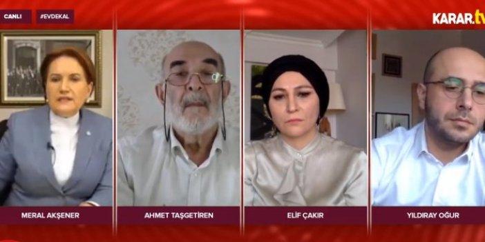 İYİ Parti lideri Meral Akşener Karar TV'ye konuştu
