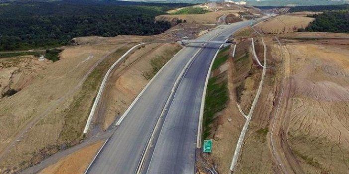 Tırlar,şehir içine giremeyecek! Kuzey Marmara Otoyolu 2020 sonunda tamamlanacak