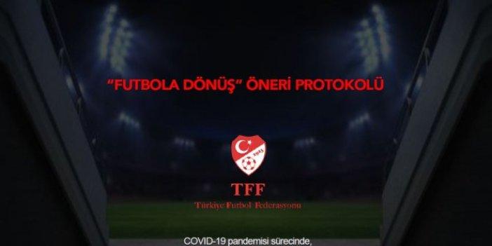 TFF'nin resmi sitesi duyurdu: İşte futbola dönüş hazırlığı