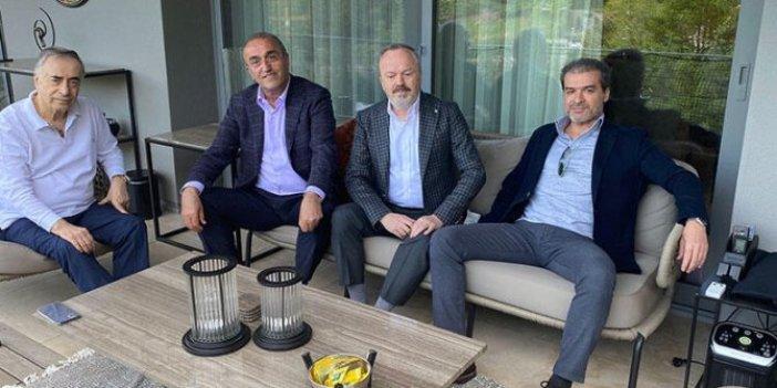 Abdurrahim Albayrak paylaştı! Galatasaray Başkanı Mustafa Cengiz'e ziyaret