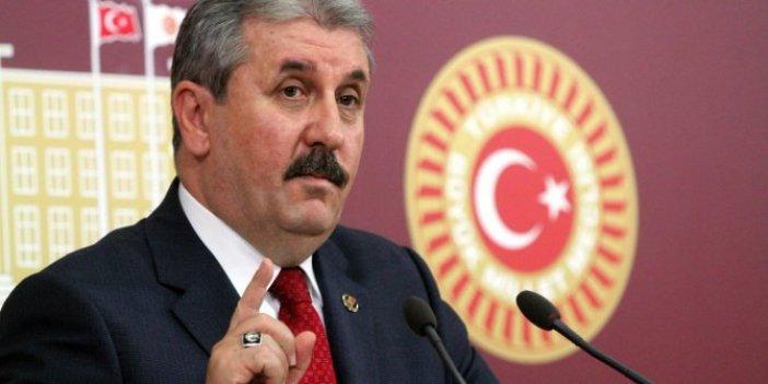 """Mustafa Destici'den hükümete sert tepki: """"Barzani'den önce kardeşlerimize yardım edin"""""""