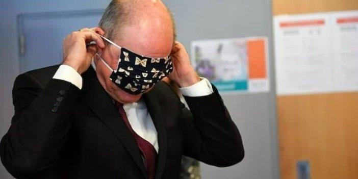 Avrupa Birliği'nin başkentinde bakanın maskeyle imtihanı