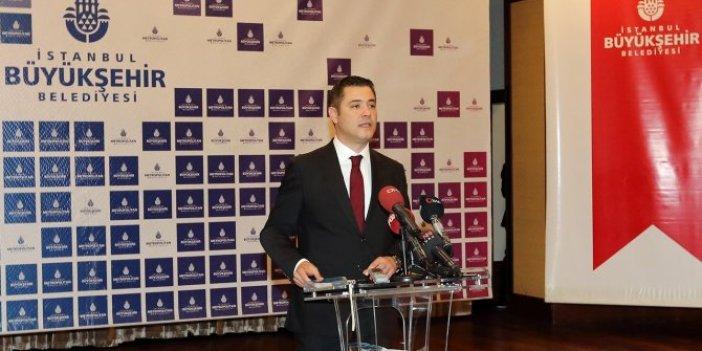 İBB sözcüsü Murat Ongun'dan İstanbullulara su uyarısı