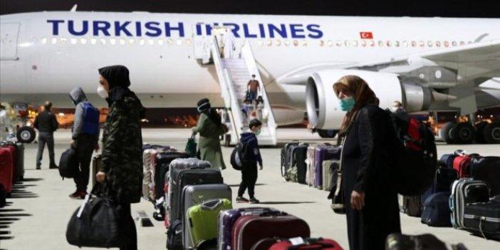 122 Türk vatandaşı daha yurda döndü