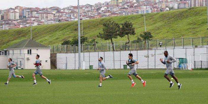 Trabzonspor 45 gün aradan sonra ilk antrenmanına çıktı