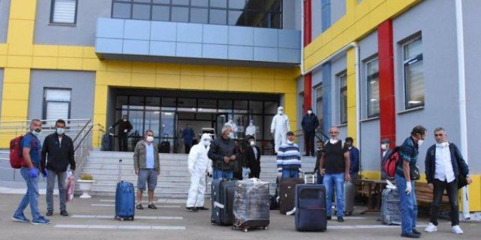 209 Türk vatandaşı yurda yerleştirildi