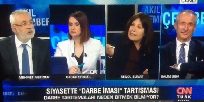 İYİ Partili Şenol Sunat'tan AKP'li Mehmet Metiner'e zehir zemberek sözler