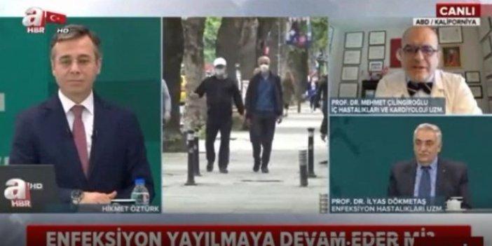 Ünlü Profesör Mehmet Çilingiroğlu'nun A Haber'de söylediklerine inanamayacaksınız, spiker çaresiz kaldı