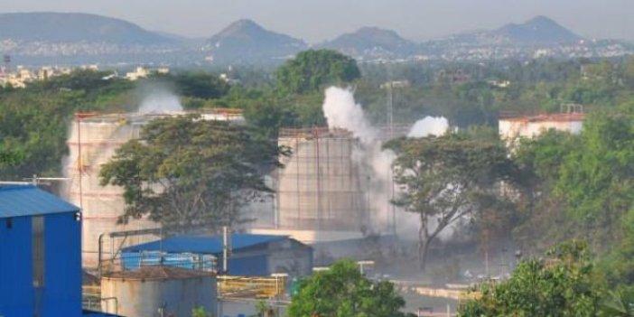 Hindistan'da kimyasal gaz paniği