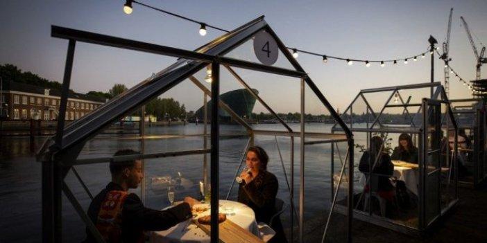 Yeni normalleşme böyle olacak: Restoranlara korona modeli